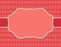 Substrate pattern background red card Stock Images