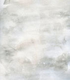 Subtelny grunge tekstury akwareli tła grey Obraz Stock
