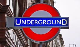 Subterráneo Imagen de archivo libre de regalías