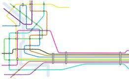 Subterráneo stock de ilustración