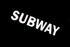 subterráneo Fotografía de archivo libre de regalías