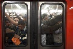 Subterráneo de la Ciudad de México Fotografía de archivo libre de regalías
