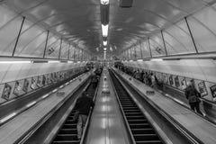 Subterráneo de la entrada Fotografía de archivo libre de regalías
