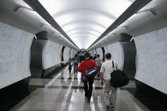 Subterráneo de la MUCHEDUMBRE Imágenes de archivo libres de regalías