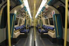 Subterráneo de Londres imagenes de archivo
