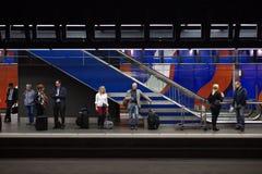 subterráneo de los viajeros Foto de archivo
