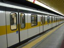 Subterráneo de Milano Imagen de archivo
