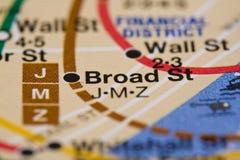 Subterráneo de Nerw York Foto de archivo libre de regalías