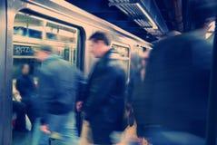 Subterráneo de New York City Imagen de archivo libre de regalías
