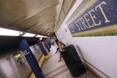 Subterráneo de New York City Fotos de archivo