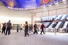 Subterráneo de New York City Foto de archivo