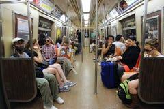 Subterráneo de Nueva York Imagen de archivo libre de regalías