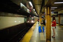 Subterráneo de Nueva York Foto de archivo libre de regalías