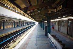 Subterráneo de Nueva York Fotos de archivo