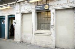 Subterráneo de Nueva York Imágenes de archivo libres de regalías
