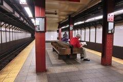 Subterráneo de NY Fotos de archivo libres de regalías