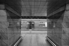 Subterráneo de Praga Fotos de archivo libres de regalías