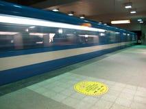 Subterráneo en Montreal Fotografía de archivo libre de regalías