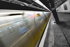 Subterráneo en Nueva York Foto de archivo libre de regalías