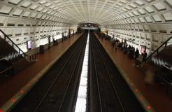 Subterráneo en Washington DC Foto de archivo libre de regalías