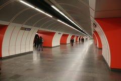 Subterráneo-estación Imágenes de archivo libres de regalías