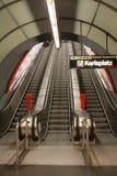Subterráneo-Estación Foto de archivo libre de regalías