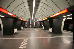 Subterráneo-Estación Fotos de archivo