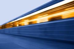 Subterráneo. Estación del metro Imagen de archivo libre de regalías