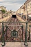 Subterráneo Naschmarkt Viena, Austria Foto de archivo libre de regalías