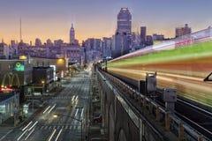 Subterráneo Nueva York Fotos de archivo libres de regalías