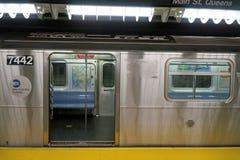 Subterráneo Nueva York foto de archivo libre de regalías