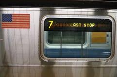 Subterráneo Nueva York imagen de archivo libre de regalías