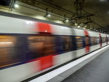 Subterráneo parisiense Imagenes de archivo