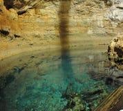 subterranean lake Arkivbilder