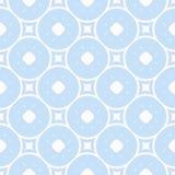 Subtiel minimaal geometrisch patroon in blauwe en witte kleuren abstracte achtergrond stock illustratie