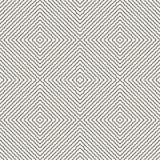 Subtiel naadloos patroon met diagonale lijnen, vierkanten Natuurlijke organische stijl stock illustratie