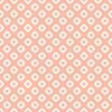 Subtiel roze en wit abstract geometrisch bloemen naadloos patroon Aziatische Stijl royalty-vrije illustratie
