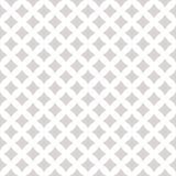 Subtiel vector naadloos patroon met kleine diamantvormen, sterren Wit en grijs stock illustratie