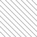 Subtiel vectorstrepen naadloos patroon Diagonale lijnentextuur stock illustratie