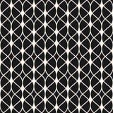 Subtiele abstracte achtergrond, dunne golvende lijnen, gevoelig rooster stock illustratie