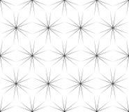 Subtiele geometrische textuur, naadloos patroon, glanzende sterren Royalty-vrije Stock Afbeelding