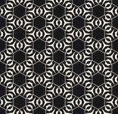 Subtiele vector geometrische textuur met dunne lijnen, hexagonaal net Royalty-vrije Stock Afbeeldingen