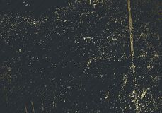 Subtil mörk grå vektortextursamkopiering Abstrakt guld plaskade glamourbakgrund Guld- grungebakgrund för prickigt korn festligt stock illustrationer
