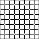 Subtiles dunkles geometrisches nahtloses Muster mit kleinem Diamanten formt stock abbildung