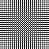 Subtle background texture, black & white circles. Vector monochrome seamless pattern, subtle background with circles & rhombuses, black & white. Simple abstract Stock Illustration