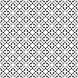 Subtle geometric seamless pattern, oriental style Royalty Free Stock Image