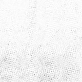 Subtle halftone dots vector texture overlay. Subtle halftone vector texture overlay. Monochrome abstract splattered background Royalty Free Stock Images