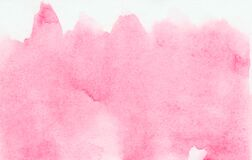 Free Subtle Light Pink Alcohol Ink Abstract Background. Liquid Watercolor Paint Splash Texture Effect Illustration For Card Design Royalty Free Stock Photography - 171496337