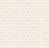Subtle monochrome minimalist seamless pattern with tiny dots, hexagonal shapes stock illustration