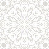 Subtle openwork vector seamless pattern Royalty Free Stock Photography